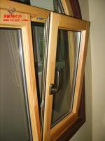 铝木复合外开外到窗