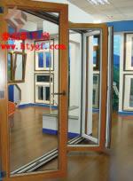 铝木复合折叠门
